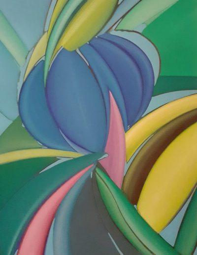 Predrag Jokić - Sjeverni cvijet 70x90